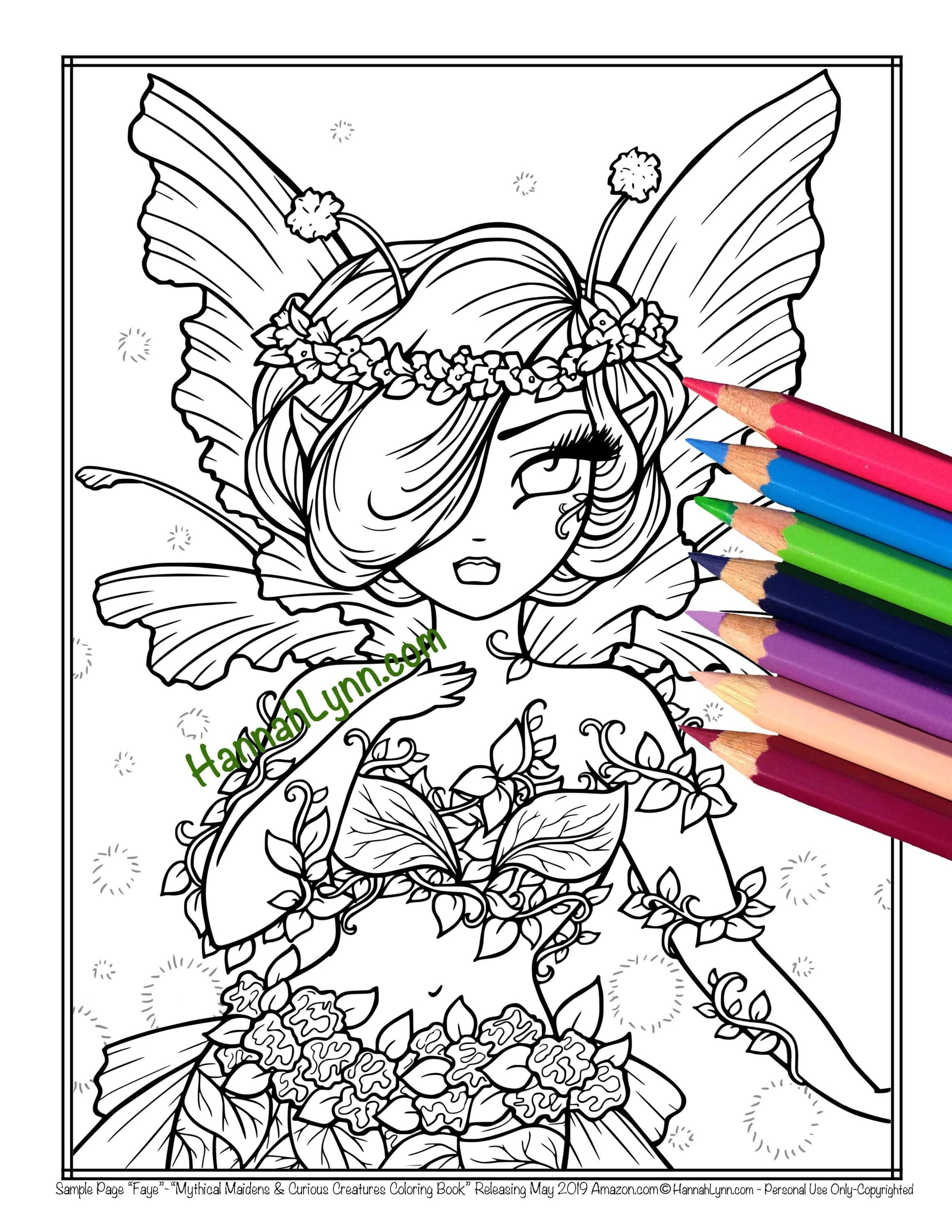 Hannah Lynn Coloring Free Sample Pack Colouring Pages Coloring Books Hannah Lynn