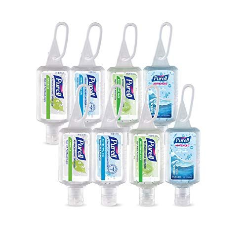 Purell Advanced Hand Sanitizer Gel Variety Pack 8 1 Fl Oz
