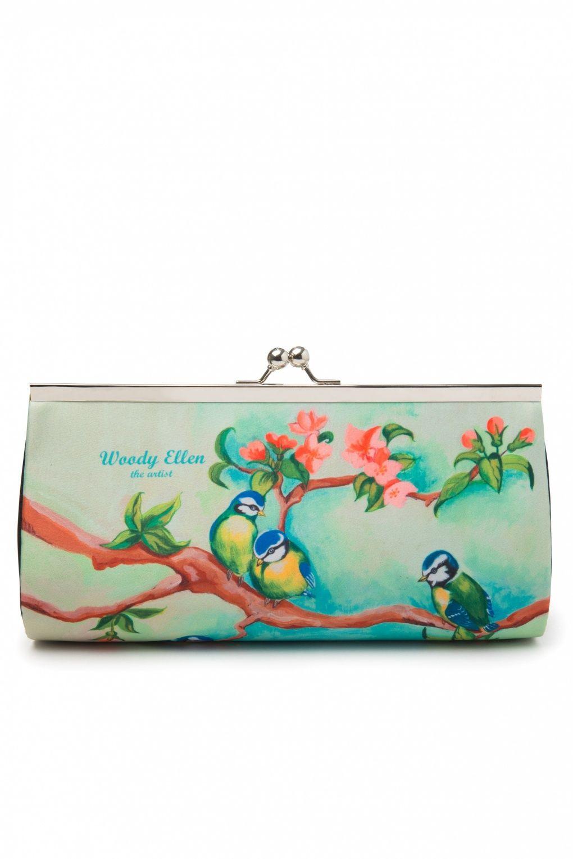 0e0b247e029 40s retro Clutch Large With Chain Birdgirl in 2019 | bags/purses ...