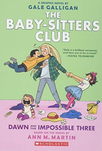Read Download Dawn And The Impossible Three The Babysitters Club