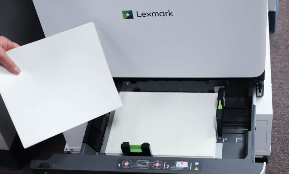 Sheet Fed Laser And Inkjet Printers Are Very Versatile With The Ability To Print Large And Small Label Sizes For Many Diff Sheet Labels Container Size Lexmark