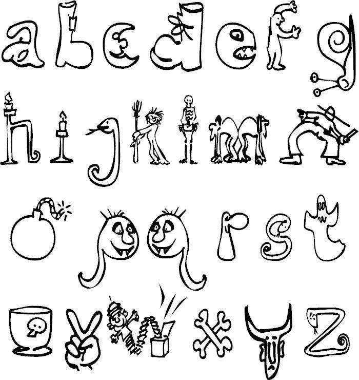 Alphabet Coloring Pages Alphabet Coloring Pages Alphabet Coloring Coloring Book Pages