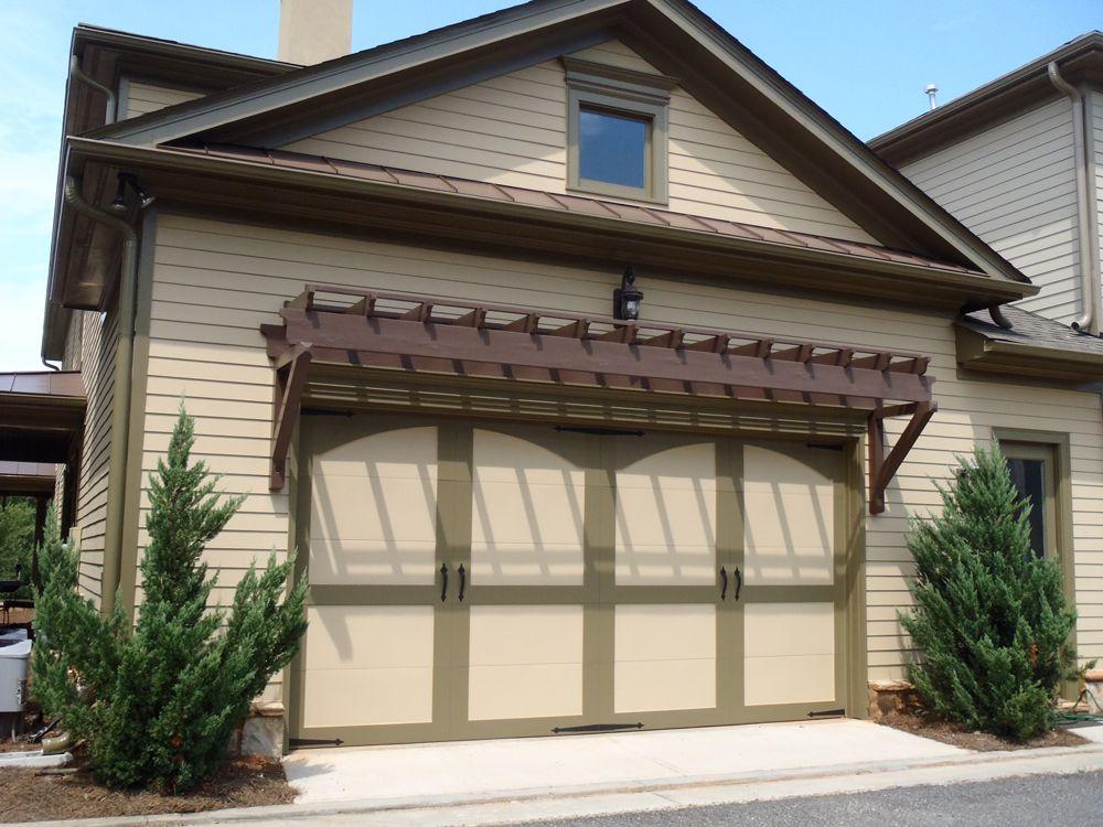 Decorative Garage Trellis By Exovations Decorative Accessories For
