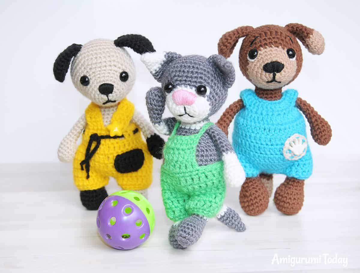 Amigurumi Toby the Cat pattern   Free Crochet Amigurumi   Pinterest ...