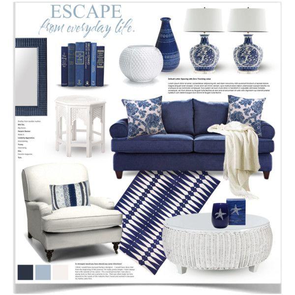 Designer Clothes Shoes Bags For Women Ssense Blue And White Living Room Blue Living Room Living Room Decor