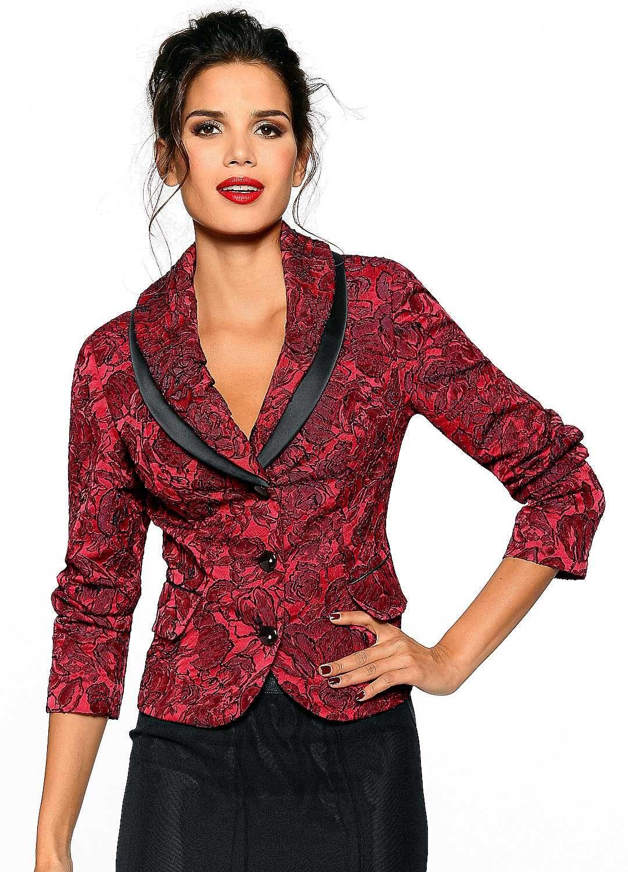 Heine Exquisite Jacquard Blazer Jacquard jacket, Womens