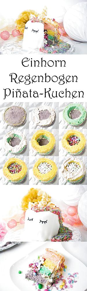 Photo of Machen Sie sich selbst einen Einhorn-Regenbogen-Piñata-Kuchen – Mama Kreativ,  …