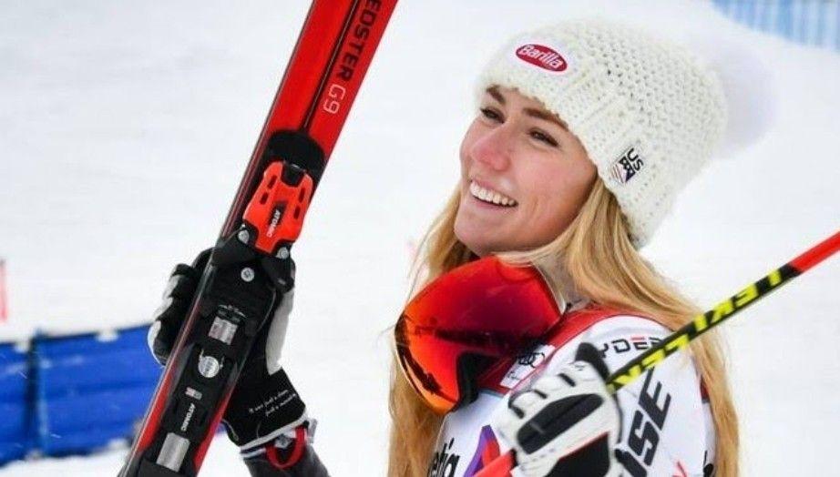 Mikaela Shiffrin Usa Alpine Skiing 2018 Olympic Athelete Gold Fan T Shirt