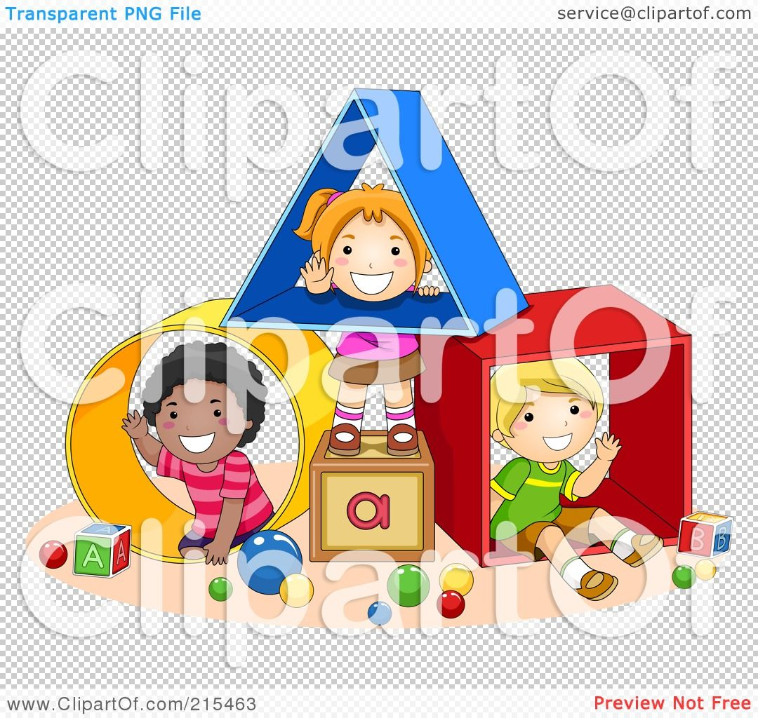 Royalty Free Rf Clipart Illustration Of Diverse School Kids Playing With Shapes By Bnp Design Studio Kids Playing Kids School Illustration