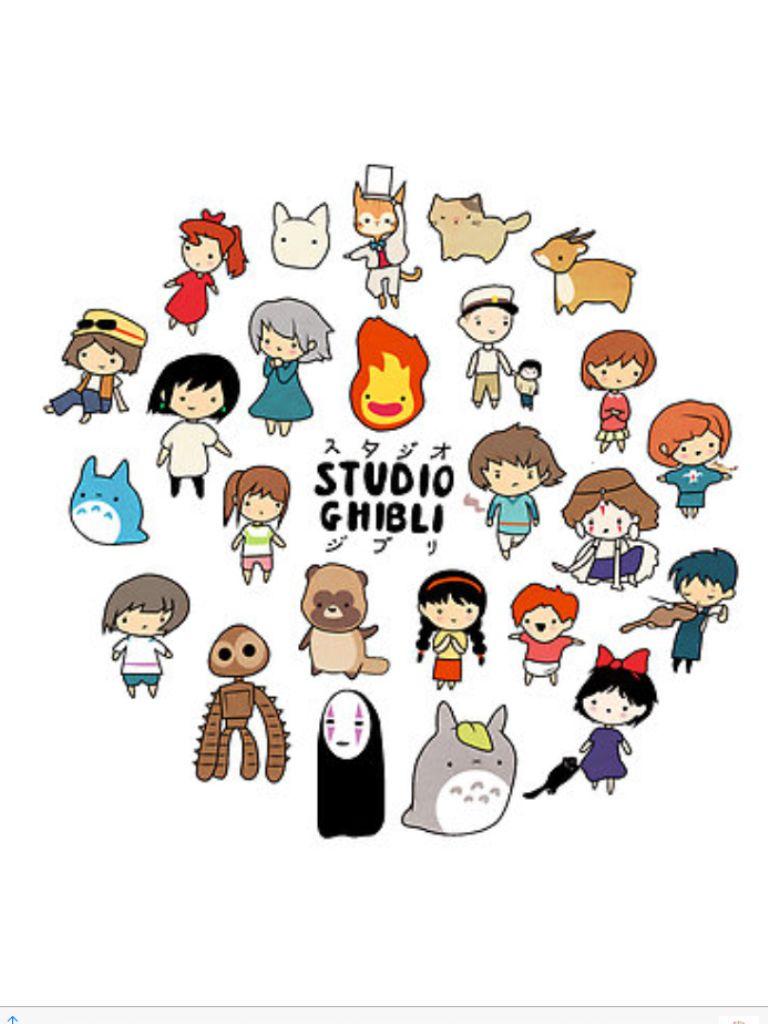 Studio Ghibli ジブリ イラスト スタジオジブリ かわいいイラスト