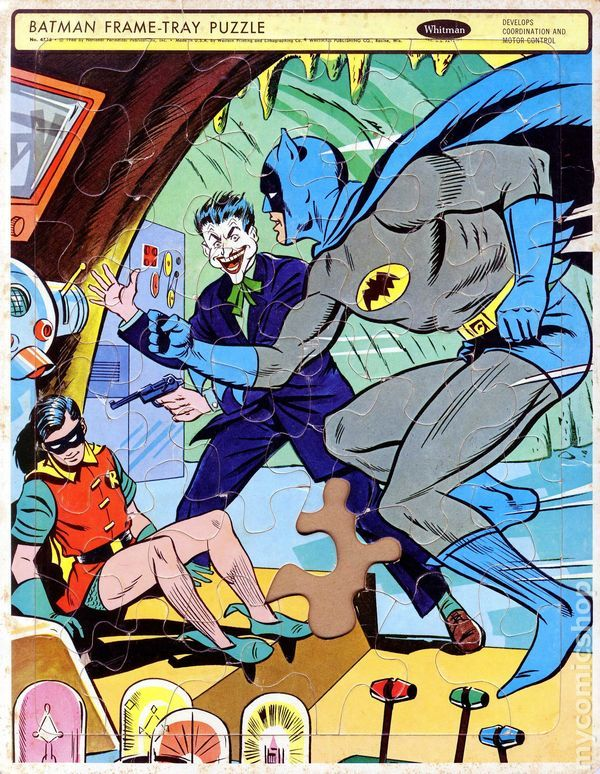1966 Batman Frame Tray Puzzle