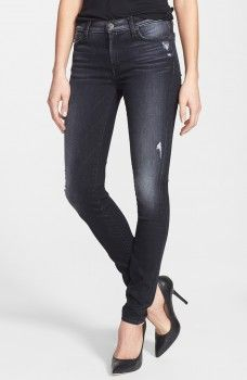 7 for all mankind 'The Skinny' Distressed Jeans (Grey Black Destiny) worn by Hayley Marshall on The Originals. Shop it: http://www.pradux.com/7-for-all-mankind-39the-skinny39-distressed-jeans-grey-black-destiny-36045?q=s49