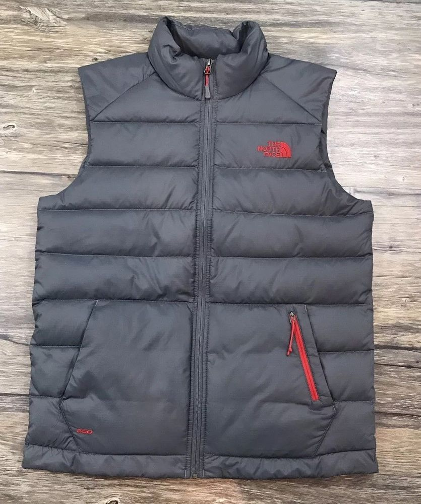 eb7417020 The North Face 550 Puffer Goose Down Vest Mens Sz M / | eBay | My ...