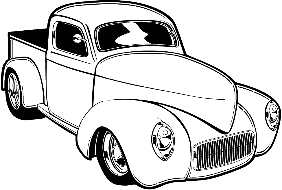 Hot Rod Coloring Pages Cars Coloring Pages Old School Cars Cool Car Drawings