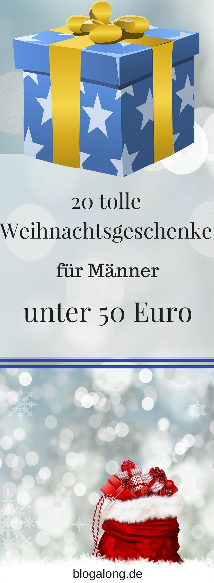 20 tolle Weihnachtsgeschenke für Männer unter 50 Euro | Putzen ...