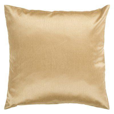 Surya Silk Lane Decorative Pillow - Yellow Down - HH038-2222D