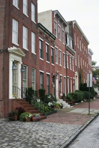 Rowhouses~Baltimore, MD