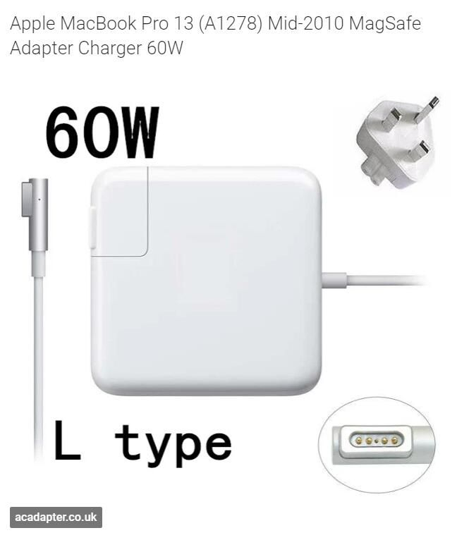 Apple Macbook Pro 13 A1278 Mid 2010 Magsafe Adapter Charger 60w Apple Macbook Air Macbook Macbook 13