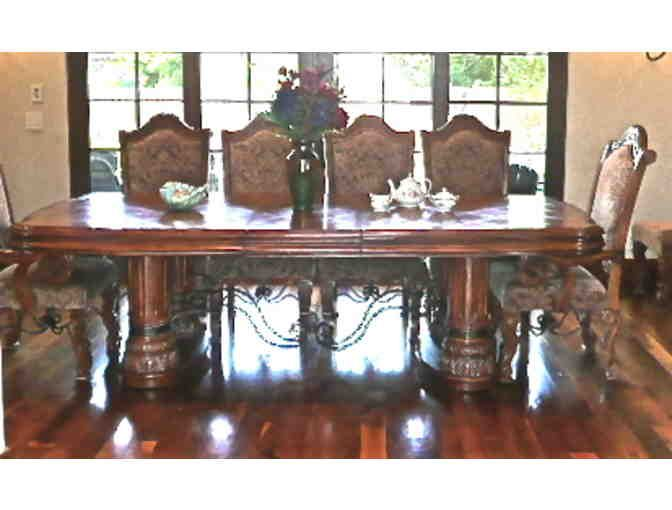 unique formal dining table sets Old World Style Formal Dining