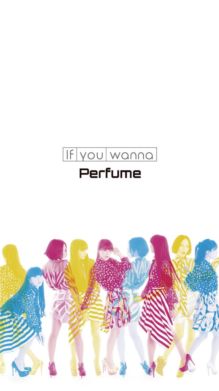 perfume3人ポーズを決める壁紙