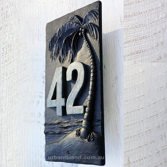 Unique House Signs And Numbers Modern And Original Australian