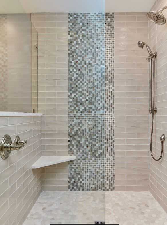 Master Bath And Walk In Shower Open And Airy Feel With The Glass