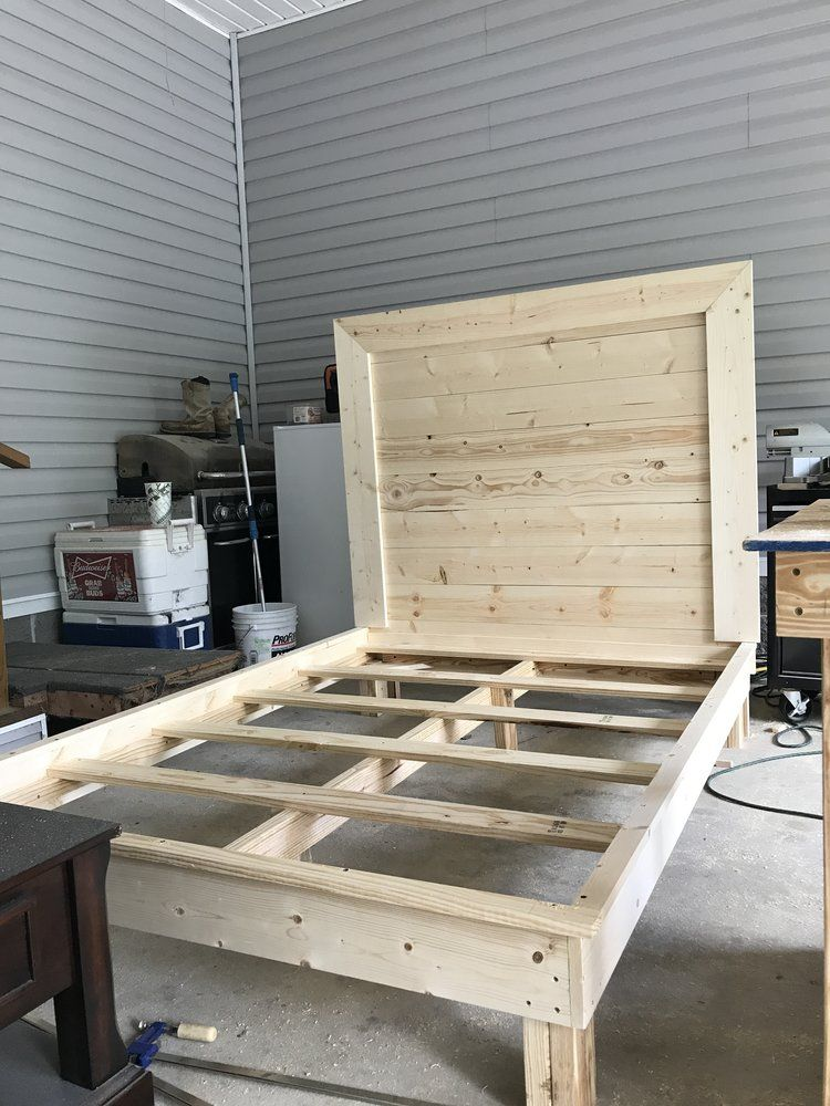 Diy Twin Bed Frame With Headboard Diy Twin Bed Frame Bed Frame