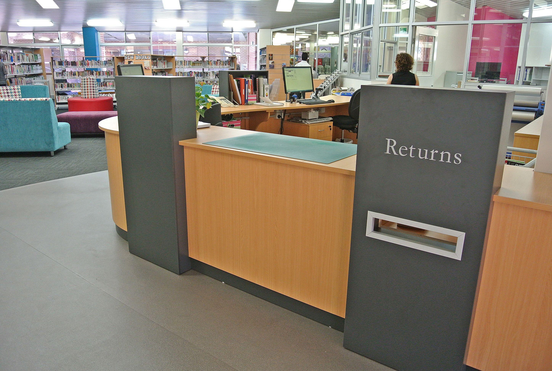 library circulation desk - Library Circulation Desk Design