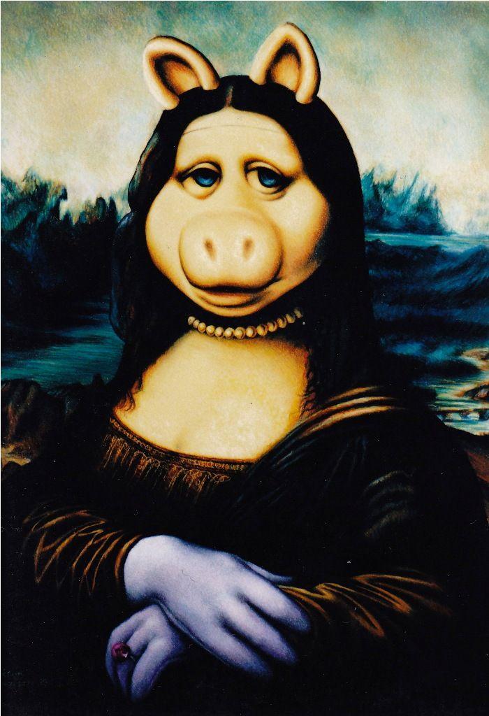 0075 | Mona lisa, Lisa and Altered art