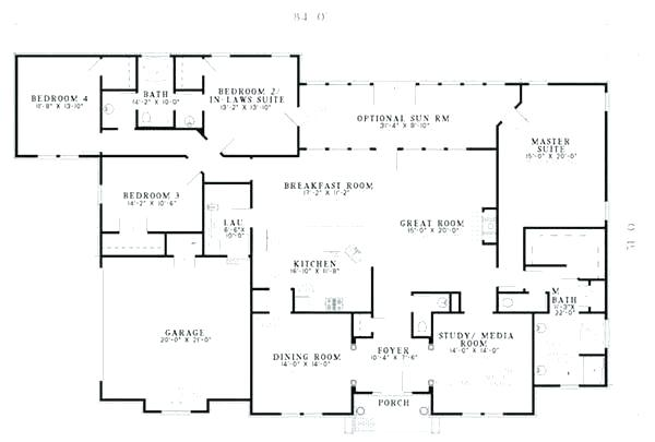 House Plans With Inlaw Apartments House Plans With Detached Guest House Inspirational Home Plans With Apartmen House Plans Colonial House Plans New House Plans