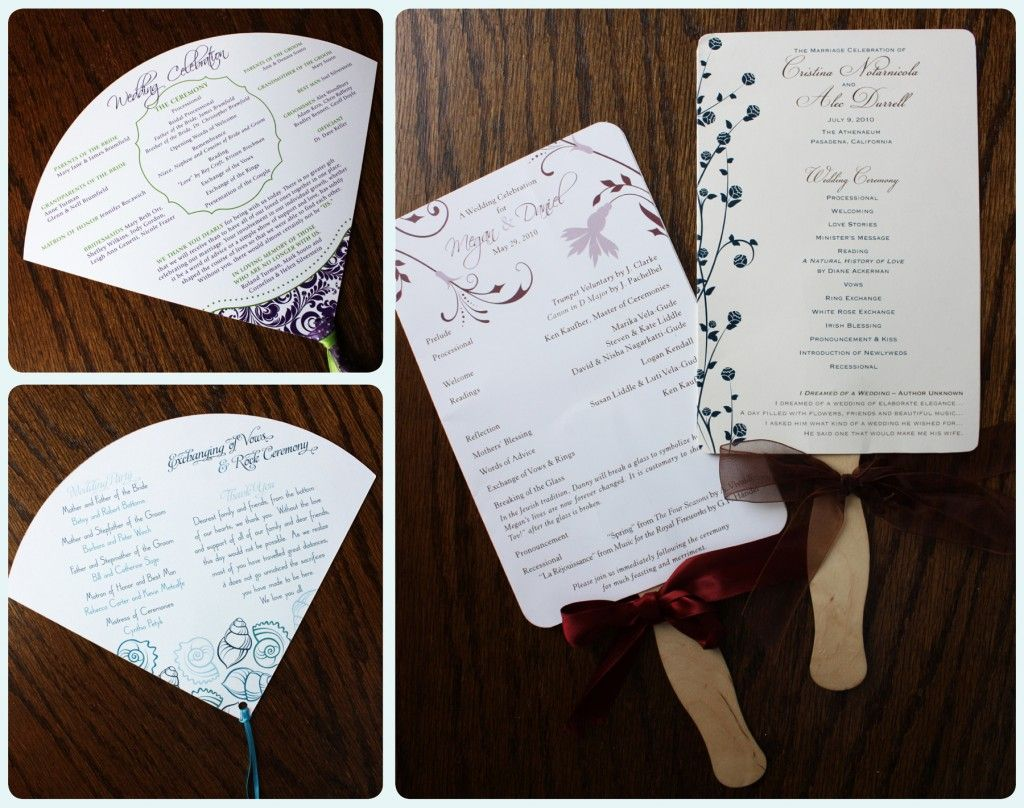 17 Best images about wedding programs on Pinterest | Wedding ...