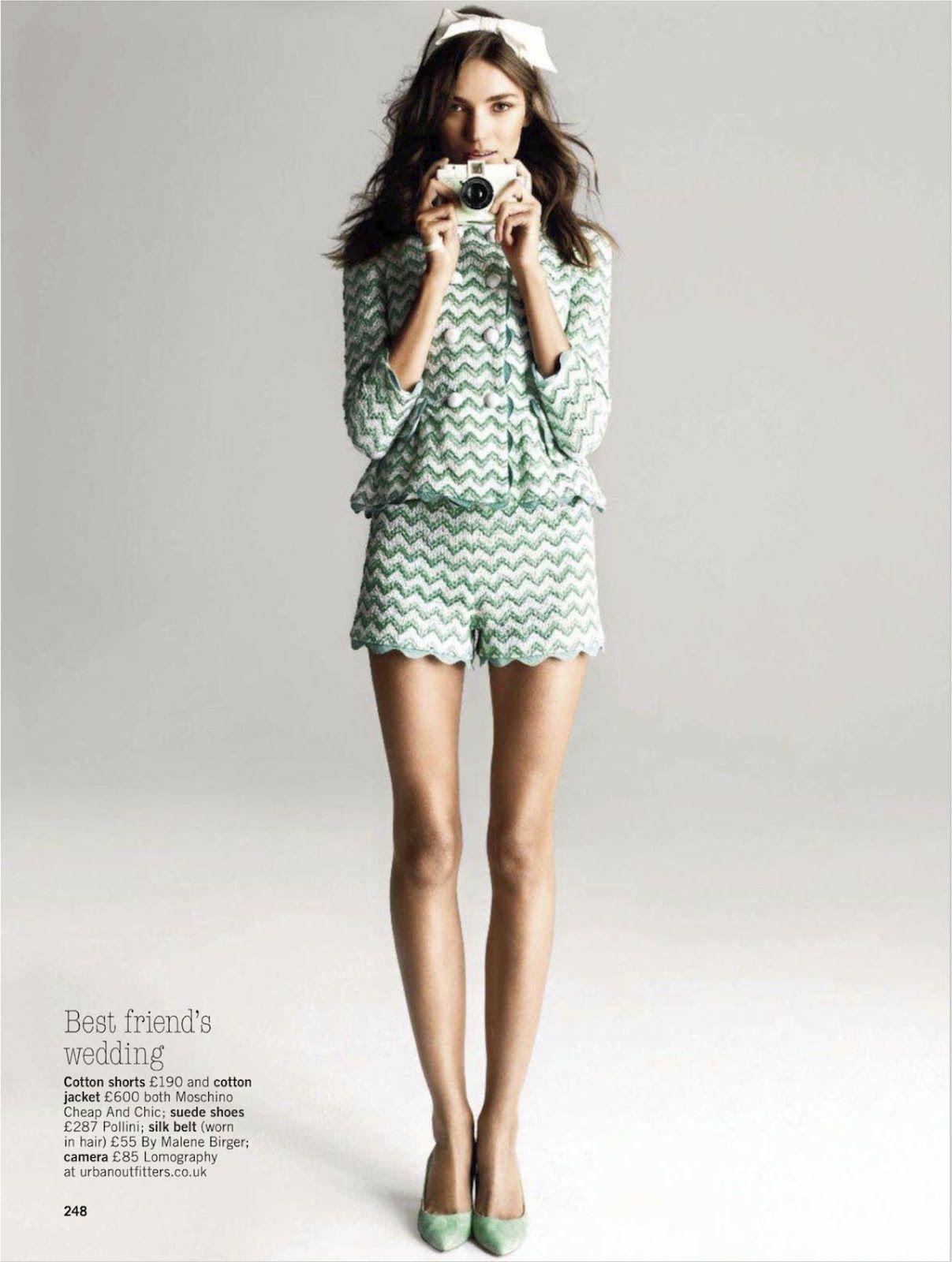 GLAMOUR UK  model: Daniela Mirzac