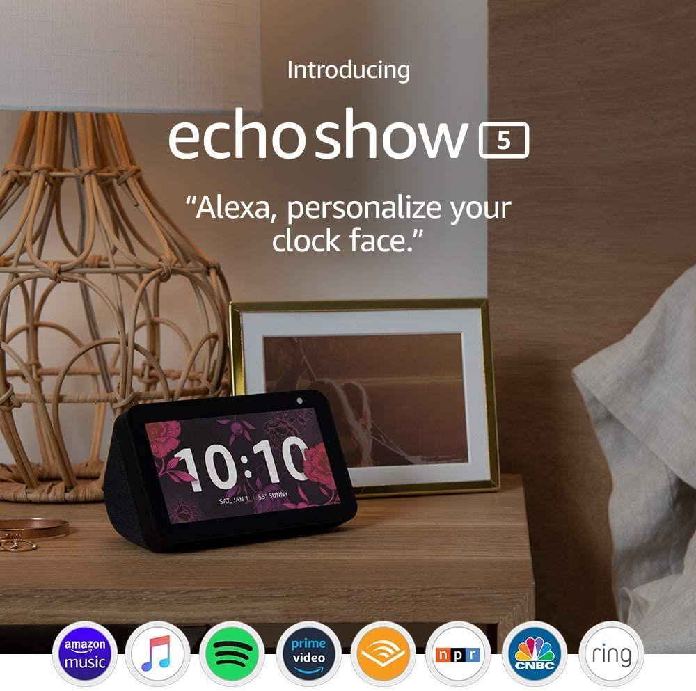Echo Show 5 Smart Display With Alexa In 2020 Alexa App Alexa Amazon Devices