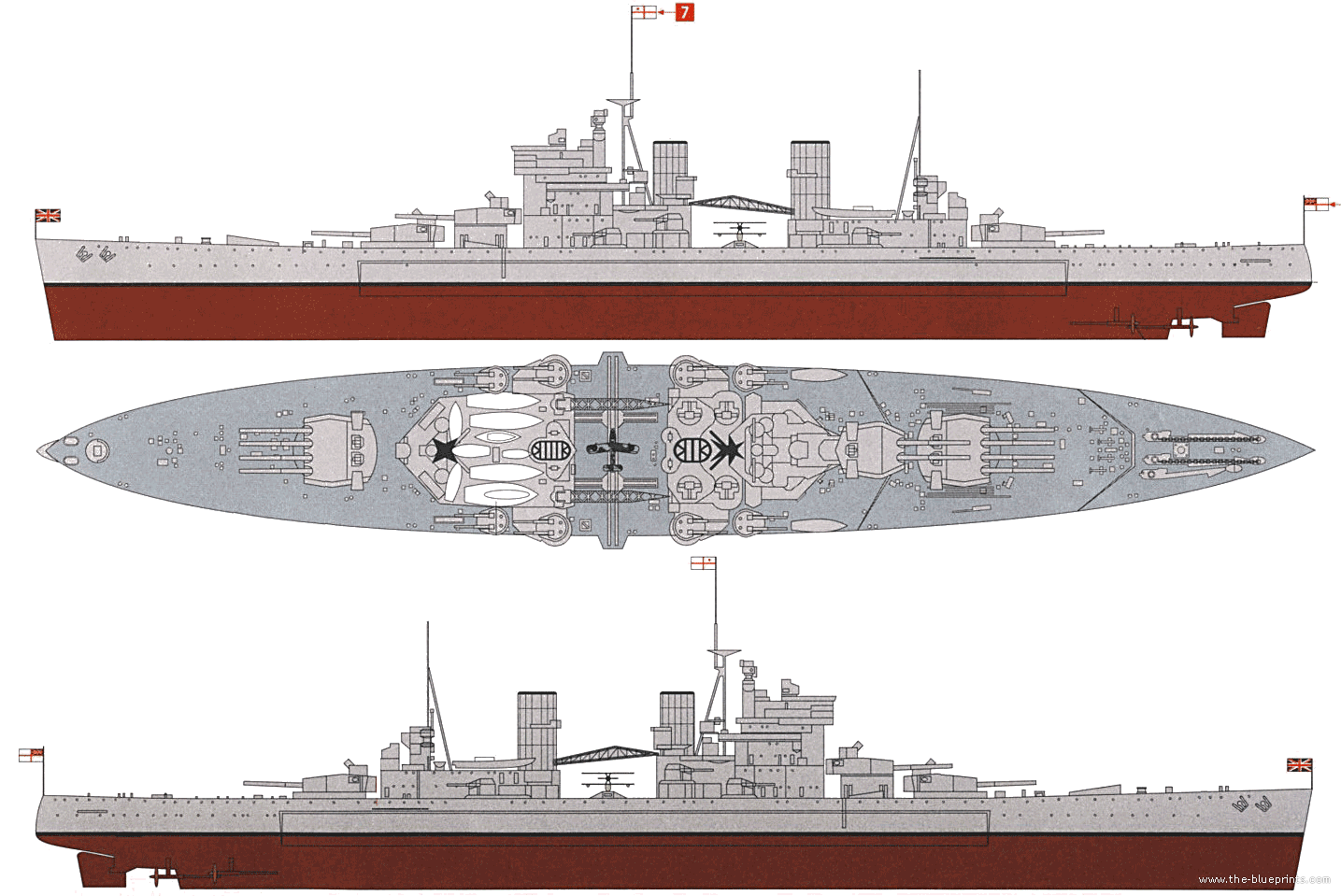 Naval ship blueprint naval ships references pinterest king naval ship blueprint malvernweather Choice Image