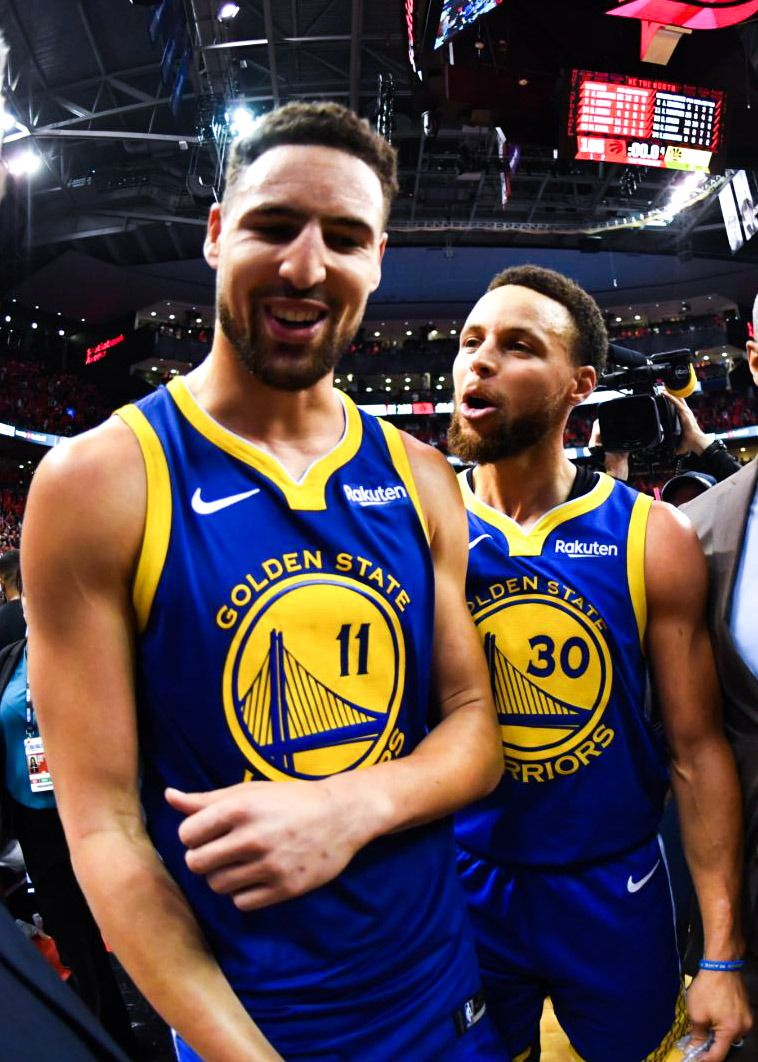 Stephen Curry and Klay Thompson. Splash Brothers. in 2020