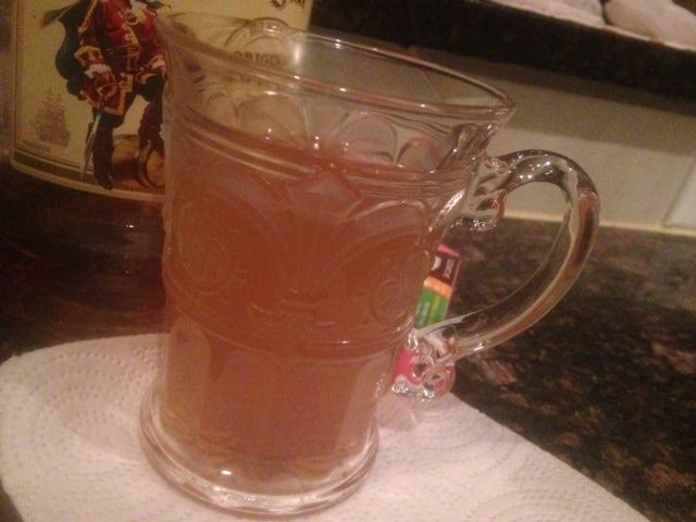 Cold Remedy Hot Spiced Toddy Rum Brandy Or Whiskey Honey Or