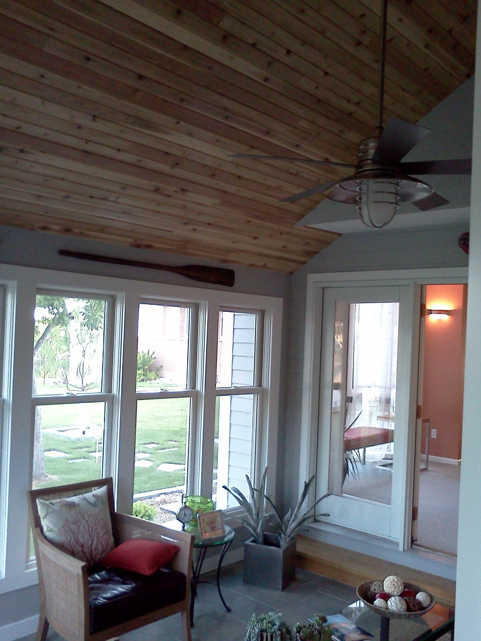 3 Season Porch Turned Into A Year Round Sunroom House With Porch