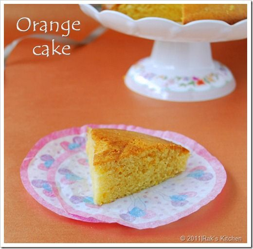 Eggless Orange Cake Recipe Orange Cake Recipe Orange Cake Orange Baking
