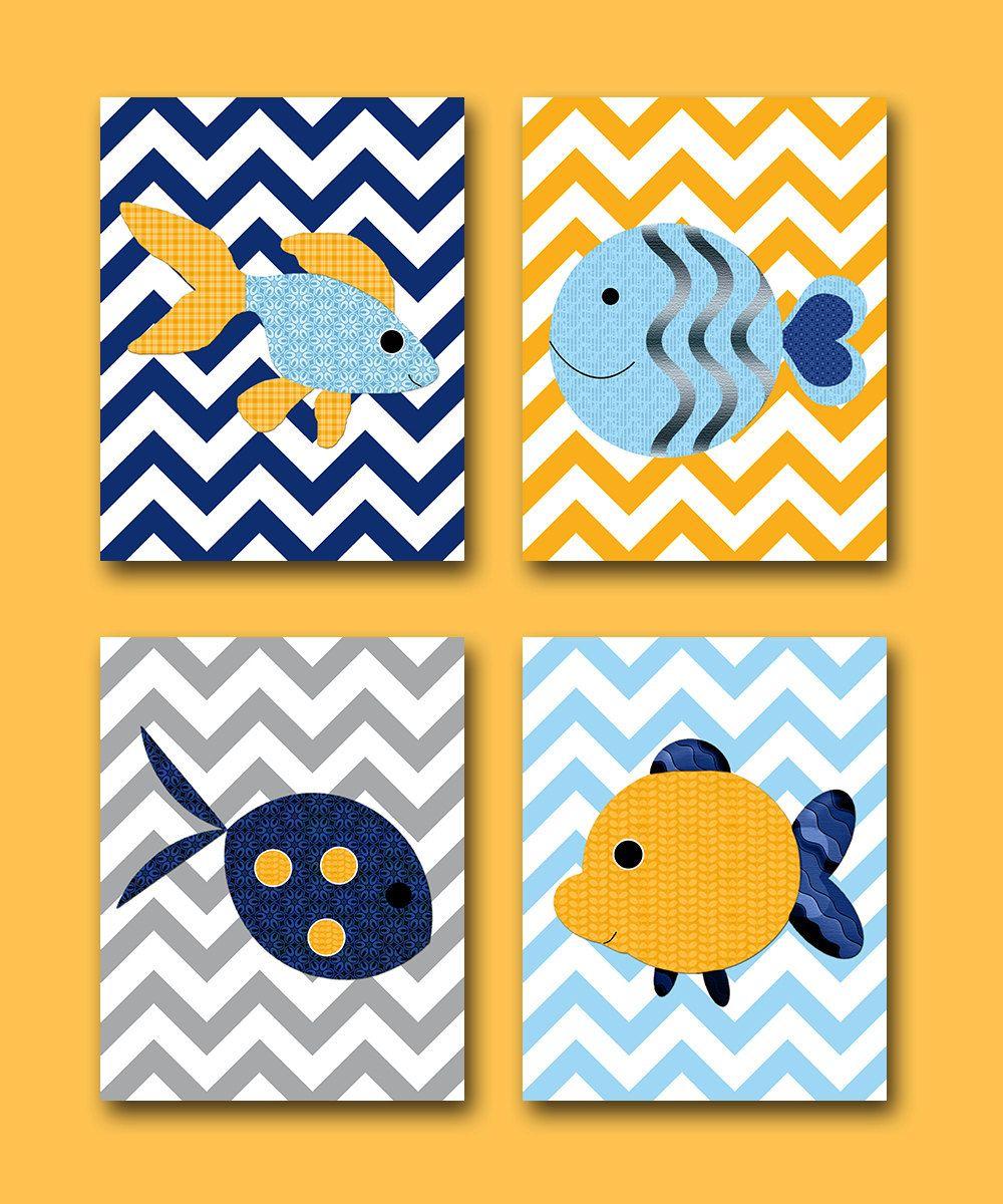 Sea Baby Nursery Decor Baby Boy Nursery Decor Kids Art Kids Wall Art ...