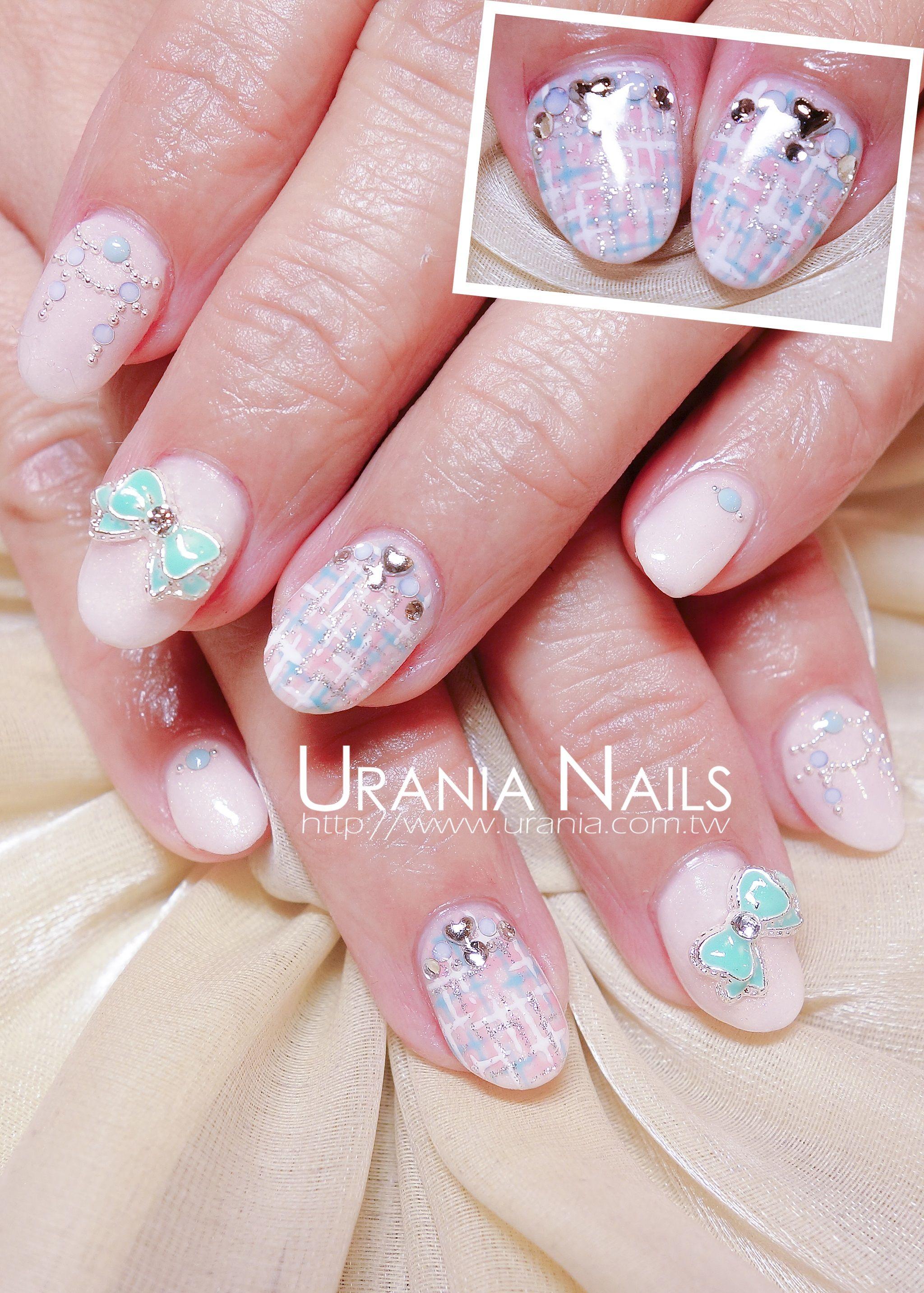 Nails design http://blog.urania.com.tw/ | Urania Nails Art | Pinterest