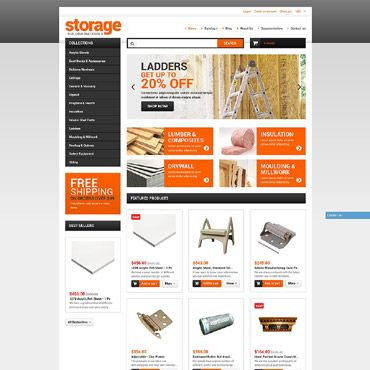 Building Materials Shopify Theme #51968