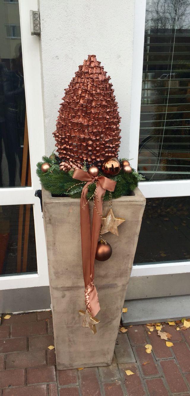 Weihnachtlich vor der Tür