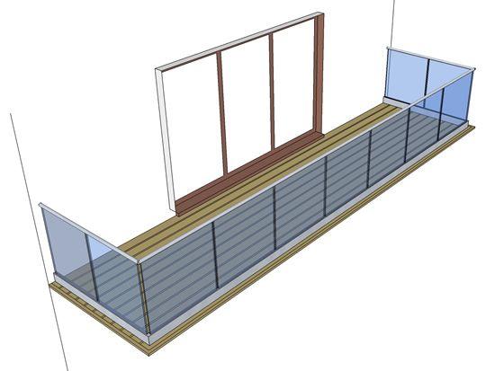 easy glass infinity glass balustrades | Поручни | pinterest | søg