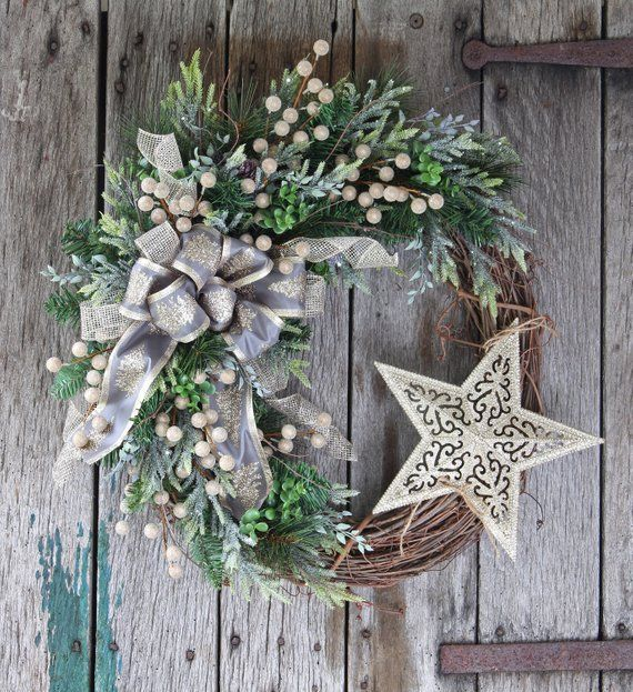 Your place to buy and sell all things handmade -   17 holiday Wreaths gold ideas