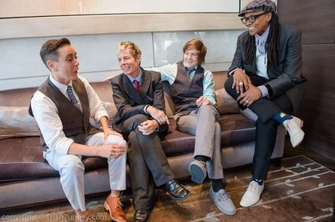 Tomboy Tailors, the first ever genderqueer clothing boutique in the nation opens shop Feb 2 in San Fransisco! Offering a menswear collection for female bodies, they will have in-house clothing, custom fittings, a plus line, AND SHOES. Men's shoes that go as small as 4, in wingtips and saddle and everything nice. All clothes manufactured in the United States and in Italy. Don't live near San Fransisco? Their complete online store will open in April, and includes fittings over Skype.