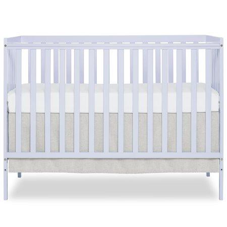 Dream On Me Synergy5 In 1 Convertible Crib Lavender Ice Clear Convertible Crib Cribs Mini Crib