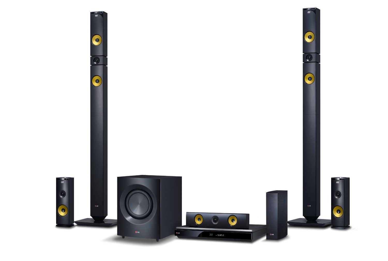 Lg bh9430pw 1460w 3d bluray theater system