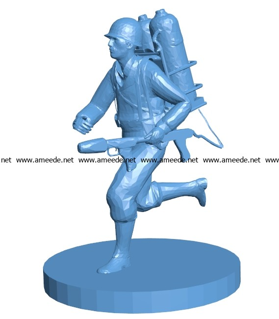 Flame Trooper men B003179 file stl free download 3D Model