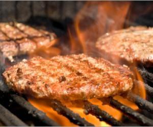 Recipe for low-fat turkey burgers.
