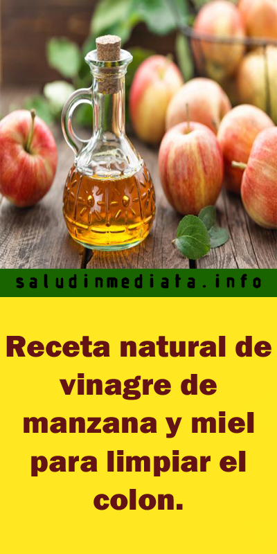 dieta del vinagre de manzana y mielo